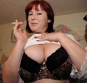 Big Boobs Smoking Porn Pictures